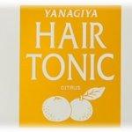柳屋 ヘアトニック<柑橘>さわやかな香りと使用感がポイント